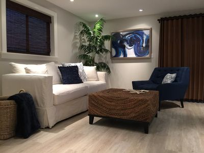 Living room - with queen sofa bed