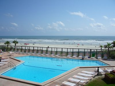 Photo for Spectacular, Peaceful Oceanfront Condo on no drive beach!