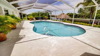 Photo for 19% OFF! -SWFL Rentals - Villa Silvana - Beautiful 3 Bedroom Home w/Spacious Lanai