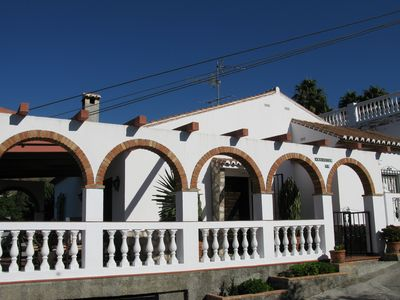 Photo for Holiday house with garden, close to the beach Playa Cabria
