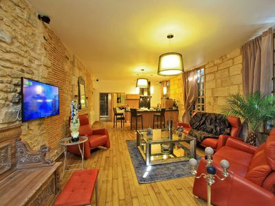 Photo for Luxury Flat Harmony Gardens with parking - Sarlat center