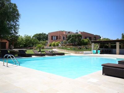 Photo for Stunning Villa & Trullo in Ostuni. Amazing Roof Terrace/Heated Pool/Aircon/WiFi