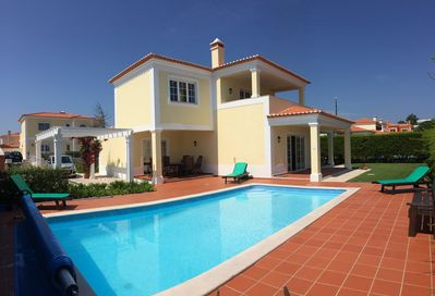 View of Villa Chloe from pool