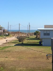 Another view from the deck of the house.  Just a short walk to the beach.
