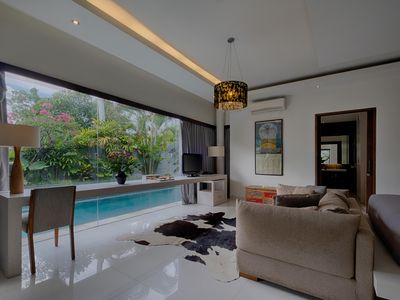 Photo for 1 BR  Villa with Lush Greenery with Only Few Minutes Drive to Echo Beach, Canggu