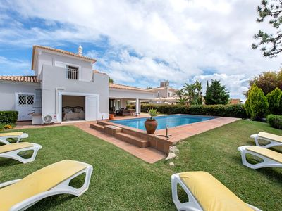 Photo for 3 bedroom Villa, sleeps 6 with Pool, Air Con and Walk to Shops
