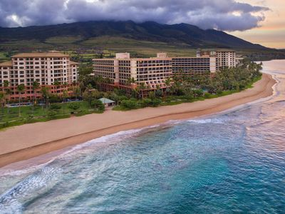 Photo for Oceanfront resort Lahaina Tower, Marriott Maui Ocean Club 1 bedroom. Best Rates!