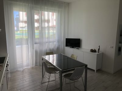 Photo for Sea Front Apartment - Misano Adriatico (Portoverde) - Rimini