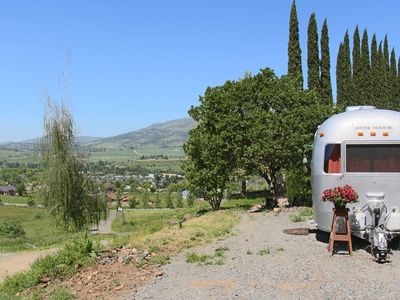 Photo for Gorgeous custom Airstream with spectacular views only 4 mi. to Ashland
