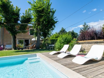 Photo for Large house of families and friends in green in the Monts d'Or in Lyon