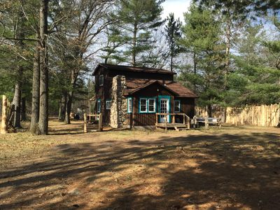 """""""Wish we had more time!"""" Cabin in the Forest–Lakes, ORV Trails + Rivers nearby!"""