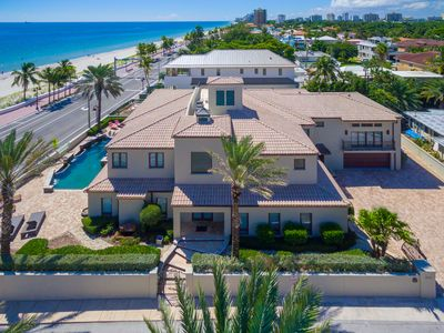 Photo for Beach Mansion, Luxury 9 BR Oceanfront Estate. Contact us for May/June Special!