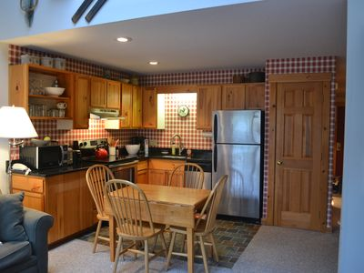 Photo for Ski or Bike In/Out, 2 bed, 2 bath (sleeps 7-8) in Snowbrook Village