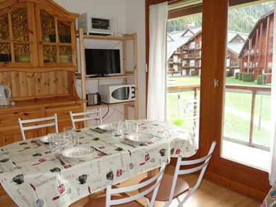 Photo for Apartment 340 m from the center of Les Contamines-Montjoie with Lift, Internet, Balcony (102631)