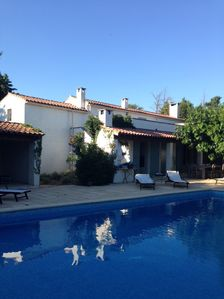 Photo for Beautiful Provencal farmhouse in the Alpilles / 8 pers. / Pool / enclosed and enclosed garden