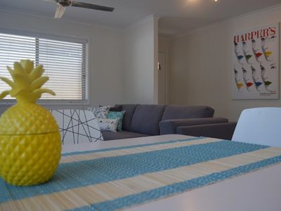 Photo for New furnishings, pet friendly, private garden, short stroll to dog beach & cafe