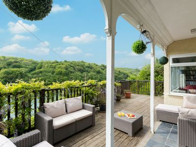 Photo for Large, old Victorian house with a great view of the wooded surroundings