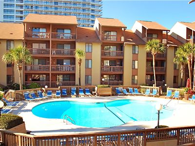 Photo for Large 2 Bedroom 2 Bath Pool and Courtyard View Condo - At The Anchorage I