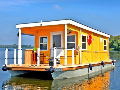 Photo for Houseboat auf der Dahme, Zernsdorf  in Spreewald - 6 persons, 2 bedrooms