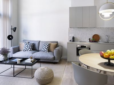 Photo for PLENSA- New, modern and design apartment with large terrace.