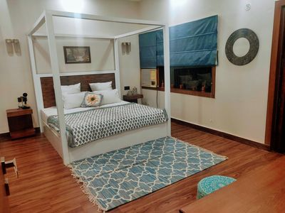 Photo for Affordable Luxury 3 BHK Pool APT in South Delhi