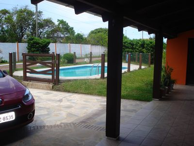 Photo for GREAT HOUSE, SUITE + 2 DORM. SWIMMING POOL NEAR THE TRAMANDAI RIVER) 1 km from