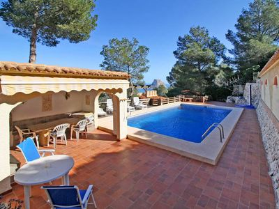 Photo for Vacation home in Calpe, Costa Blanca - 9 persons, 4 bedrooms