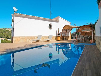 Photo for 3 bedroom Villa, sleeps 7 in Urbanització Montemar with Pool, Air Con and WiFi