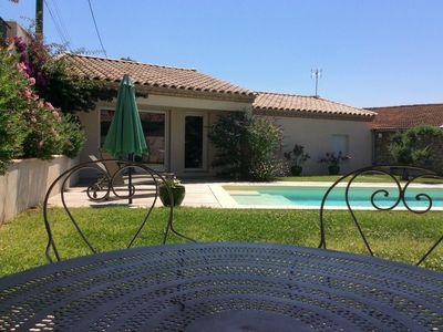 Photo for House with heated pool in Provencal village