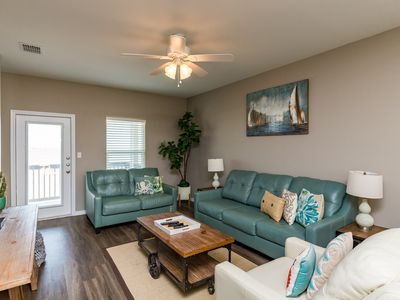 Photo for Beautiful Brand New 5 Bedroom Townhouse just Steps Off the Beach! Sleeps 16!