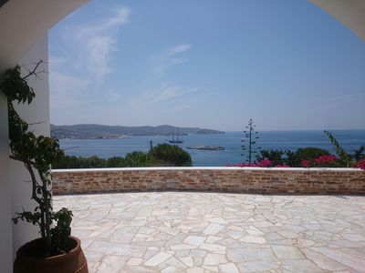 Photo for Syros: HOUSE BY  THE AEGIAN SEA WITH EXTRAORDINARY VIEW