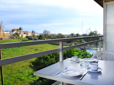 Photo for CAPUCCINO st. With private terrace and communal swimming pool.