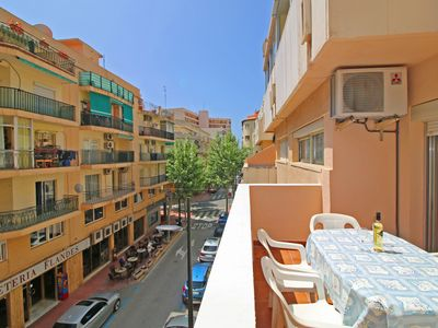 Photo for Central Cristina apartment with air conditioning and terrace, near the beach in Calpe