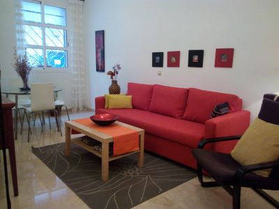 Photo for Center with Free Parking apartment in Casco Antiguo with integrated air conditioning (hot / cold), …