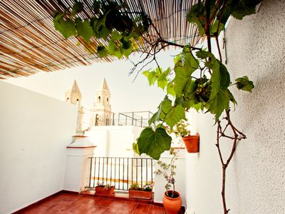 Photo for Beautiful penthouse in the center of Cadiz