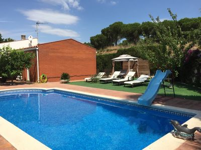 Photo for Beautiful villa with private pool ideal families.