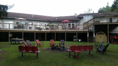 7 Bedrooms / 3 Baths Apartment ~ On 5 Acres AC, WIFI, Pond For Fishing, Firepit