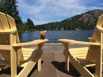 Photo for SHAWNIGAN LAKE WATERFRONT HOME WITH PRIVATE DOCK