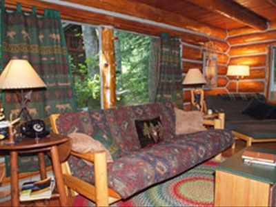 rentals rhododendron friendly cabin rental mount vacation cabins pet mt hood photo