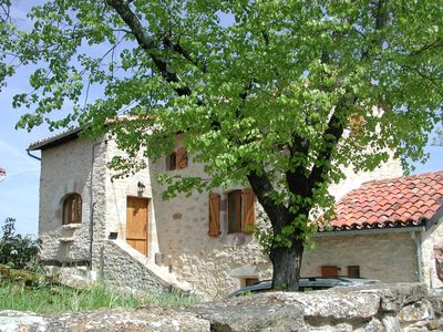 Photo for Stone farmhouse in superb French countryside. Sleeps six in 3 ensuite bedrooms