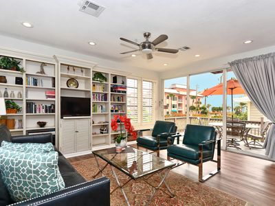 Photo for Beach views for all 3 balconies!!   - Royal Palm Suite -