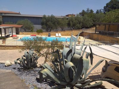 Photo for Magnificent villa with large swimming pool, quietly located in the heart of Sicily.