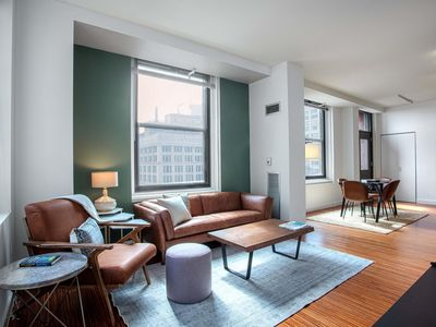 Photo for Ideal Loop 2BR w/ Gym, Pool, near Millennium Park, by Blueground