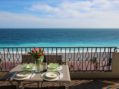 Photo for New on the market !Fantastic Seaview ! Chic apartment with terrace
