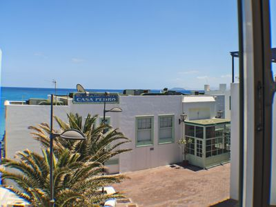 Photo for Lovely 2 bedroom apartment in the centre of Playa Blanca, ideally located...WIFI