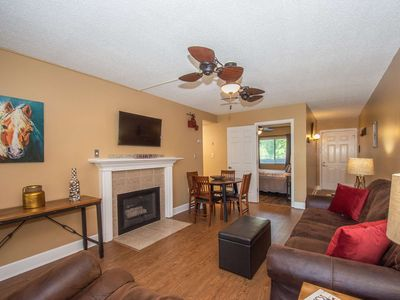 Photo for Stay Downtown Gatlinburg!  Newly Remodeled & Listed, 2 King Beds, Community Outdoor Pool & Free WiFi