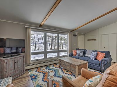 Photo for NEW-Hayward Cabin Nestled on Round Lake, Near Town