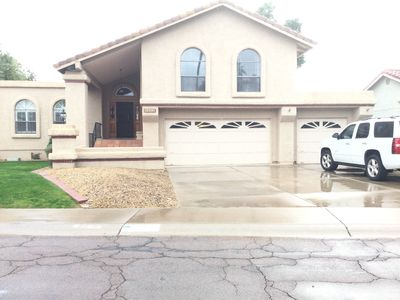Photo for Large comfortable 3 brm, 2 1/2 bath home near south mountain preserve.