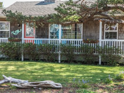 Photo for NEW RENTAL!  One Block to Beach & River.  Come listen to the Mermaids Song