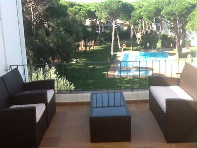 Photo for Apartment in a quality environment, nice terrace and beautiful view